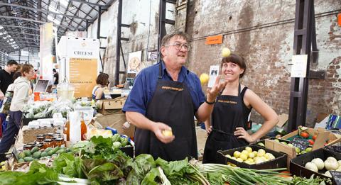 Eveleigh Farmers markets at Carriageworks, Sydney