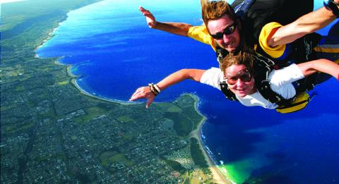 Skydive The Beach, Wollongong, New South Wales